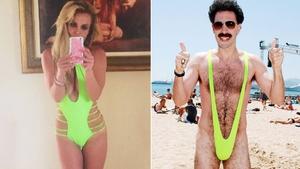 Britney vs Borat