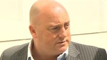 David Mahon denies murdering his stepson at an apartment complex in Dublin three years ago