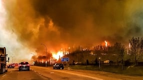 At least 1,600 buildings in the city of Fort McMurray have been consumed by the flames