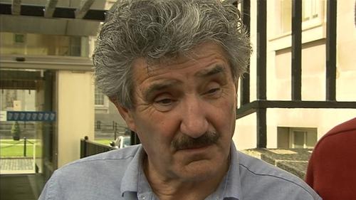 John Halligan said the leak of the draft document was 'unprofessional'