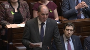 Chief Whip Paul Kehoe proposed that the Dáil return tomorrow, and the House agreed
