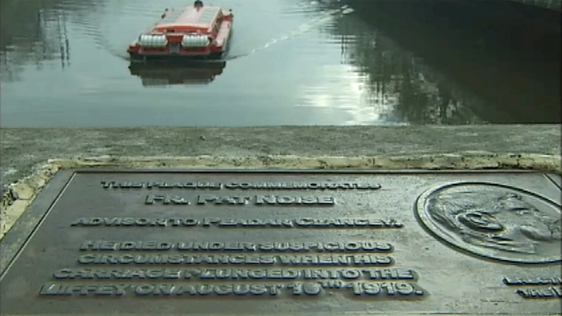 Fr Pat Noise Commemorative Plaque on O'Connell Bridge (2006)