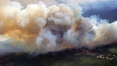 Canadian wildfire grows tenfold in size