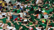 Republic of Ireland fans revelling in the atmosphere at Euro 2012