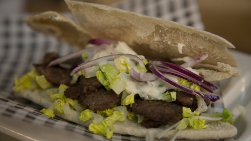 Chef Adrian's doner kebab