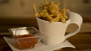 Chef Adrian's Onion Bhajis