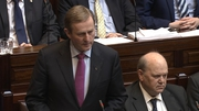 Enda Kenny has been re-elected taoiseach