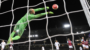 Darren Randolph will have competition from Spanish goalkeeper Adrian