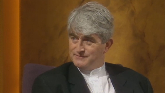 Dermot Morgan Talks Success