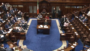 The Dáil passed the motion this evening