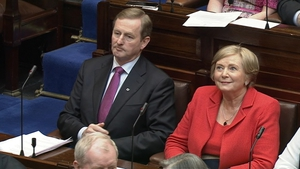 Enda Kenny has said he will make his plans clear at the end of next month