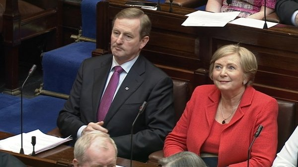 Frances Fitzgerald will also remain the Minister for Justice