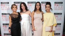 Red carpet action from the VIP Style Awards