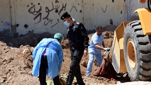 Graves have been uncovered IS, have retaken significant ground from the jihadists in recent months.