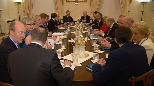Cabinet discussed bill concerning fatal foetal abnormalities last week without reaching an agreement