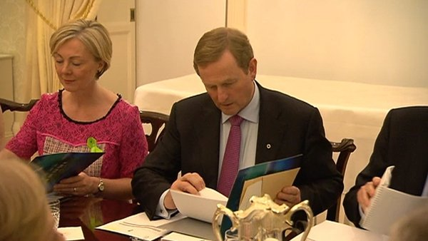 Enda Kenny presented the citizens' assembly memo to the Cabinet