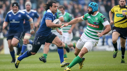 Isa Nacewa realises Leinster face a stern task at the RDS on Friday night