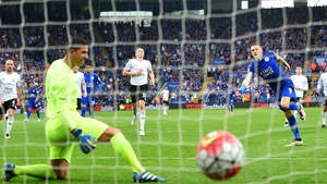 Vardy scored 24 goals in Leicester City's title-winning campaign