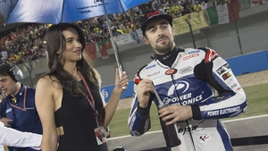 Eugene Laverty is ninth in the overall standings