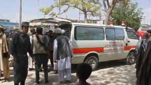 Many of the injured were rushed in ambulances to health facilities in southern Kandahar city