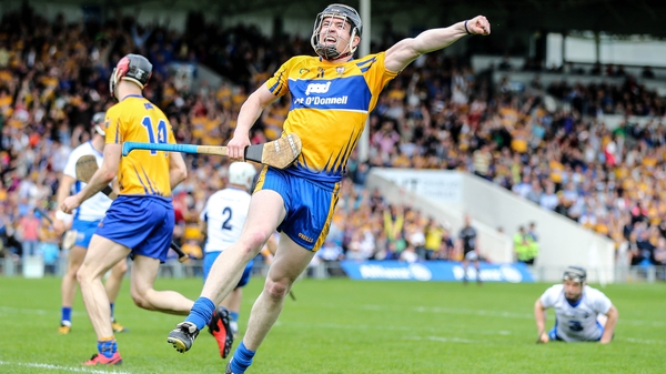 Tony Kelly scores the winning point against Waterford in the Allianz Division 1 final