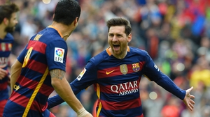 Lionel Messi set Barcelona on their way