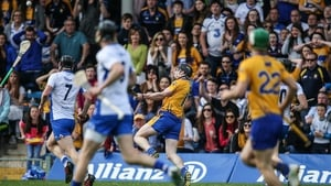 Tony Kelly with the match-winning score for Clare