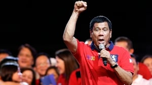 """Rodrigo Duterte also said he would give security forces """"shoot-to-kill"""" orders"""