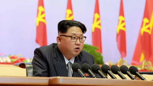 The US announced sanctions against Kim Jong-Un on Wednesday