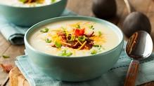 A comforting and nourishing potato soup.