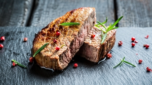 A tasty roast fillet of beef.