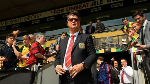 Louis van Gaal's Manchester United side trail Manchester City by just two points but have a game in hand