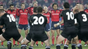 Munster hosted the All Blacks in 2008 but face the Maori All Blacks for the first time