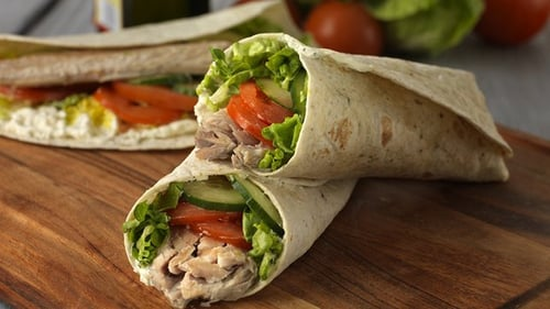 Lunch all Wrapped Up: Fresh Mackerel Wraps