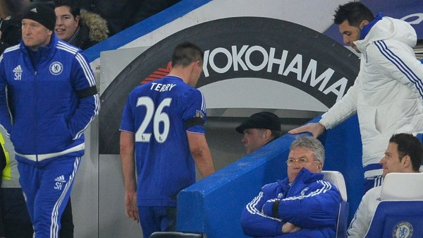 Terry looks to have played his last game for Chelsea after his red card against Sunderland