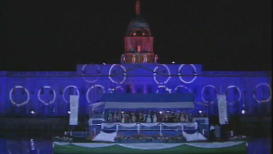 Custom House Light Show (1991)