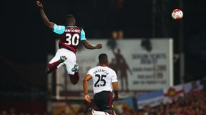 Michail Antonio has been named in the England squad