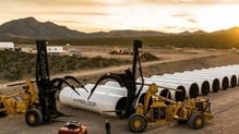 Hyperloop is currently testing the technology in the Nevada desert