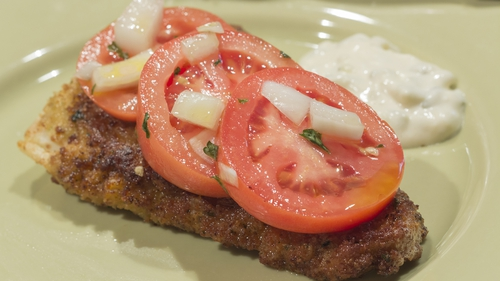 Grilled Cod with Cumin and Tomato: Rory O'Connell