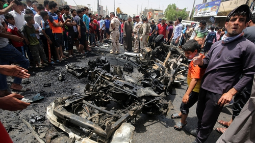 Baghdad has suffered many car bombings by Islamic State militants