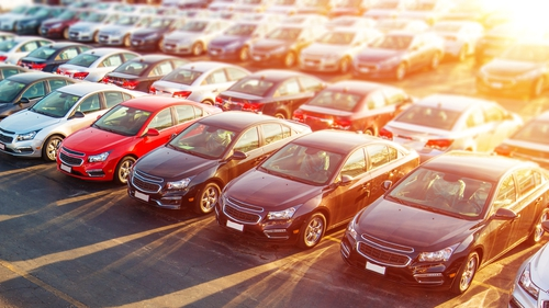 New car sales were down 12.6 per cent in January.