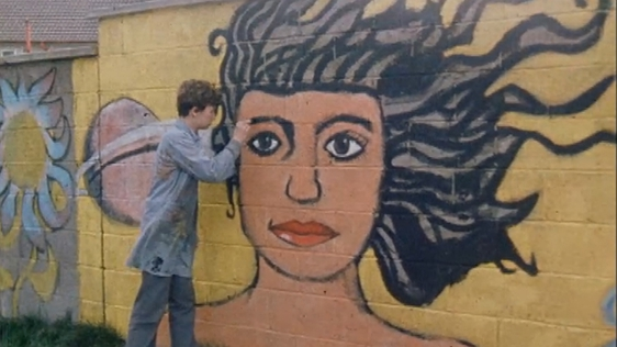 Mural in Kilbarrack (1981)