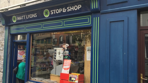 The ticket was bought at the Stop and Shop store on Sligo's Stephen Street on 5 March