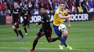 Kevin Doyle played the full ninety for Colorado on Wednesday