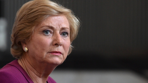 Frances Fitzgerald said deadlines are now in place for the banks to address the issue
