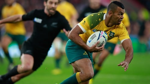 Kurtley Beale gets the number 10 shirt for the Springboks clash