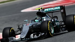 Nico Rosberg was demoted from second to third place