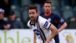 Robbie Brenson scored twice as Dundalk ran riot at Finn Park