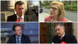 Alan Kelly (top L) is the only declared candidate so far in the race for Labour leader