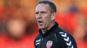 Kenny Shiels was unhappy with some of the decisions that went against his team
